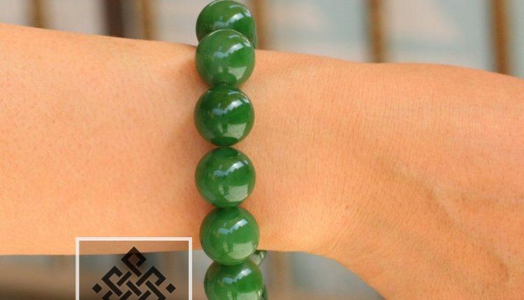 Chuỗi Hạt Vòng Tay Ngọc Bích Nephrite Jade siêu VVIP - 15