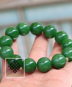 Chuỗi Hạt Vòng Tay Ngọc Bích Nephrite Jade siêu VVIP - 17