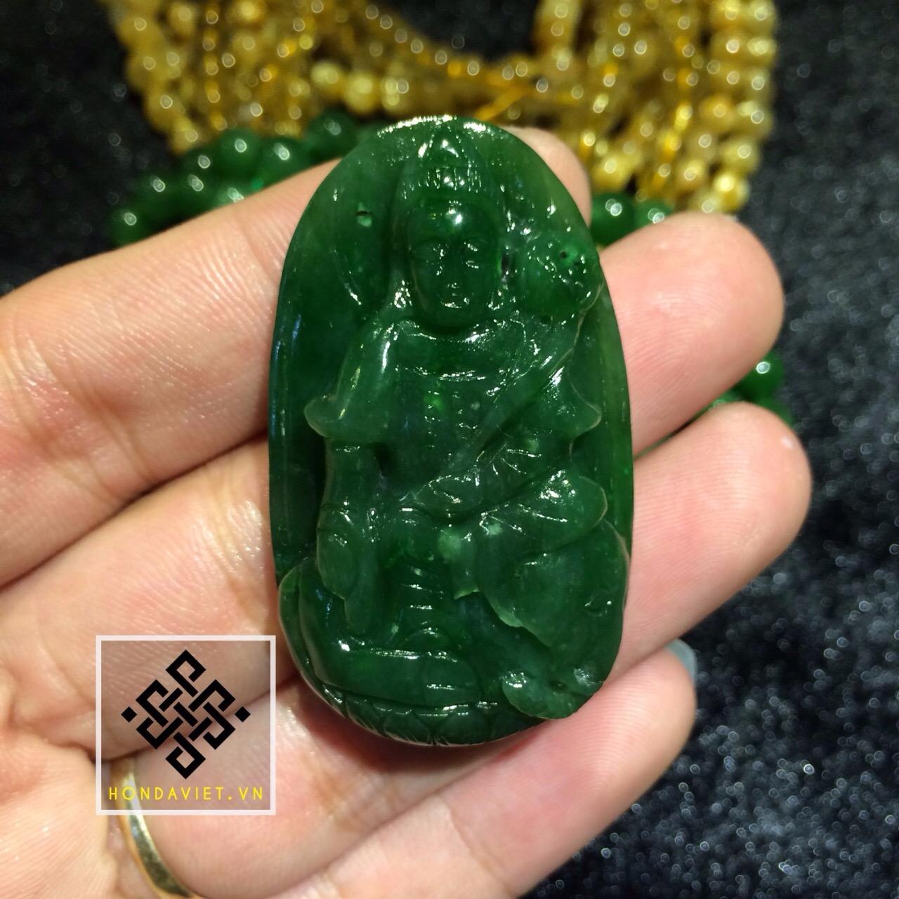 Mặt Dây Chuyền Phật Bản Mệnh Ngọc Bích (MD020) - 2