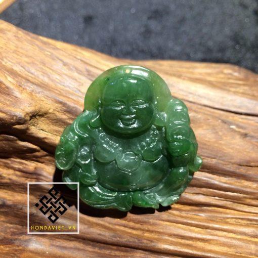 Mặt Dây Chuyền Phật Di Lặc Ngọc Bích (MD021)