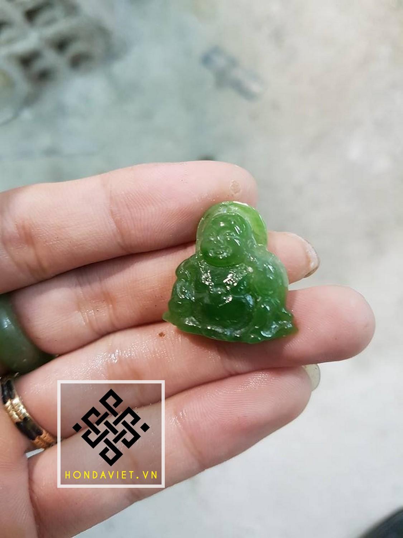 Mặt Dây Chuyền Phật Di Lặc Ngọc Bích (MD021) - 6