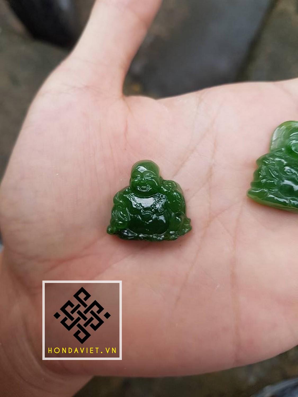 Mặt Dây Chuyền Phật Di Lặc Ngọc Bích (MD021) - 7