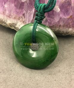 Mặt Dây Chuyền Đồng Điếu Ngọc Bích (MD008)