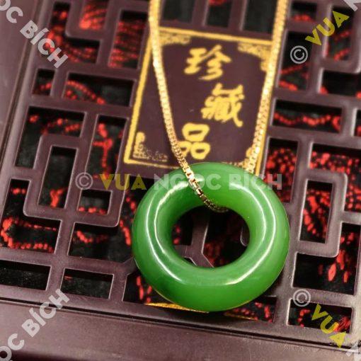 Mặt Dây Ngọc Bích Nephrite Jade (MD030)