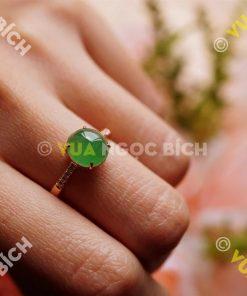 Nhẫn Ngọc Bích Nephrite Jade (NN005)