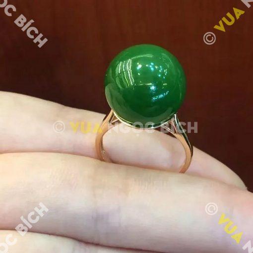 Nhẫn Ngọc Bích Nephrite Jade (NN006)