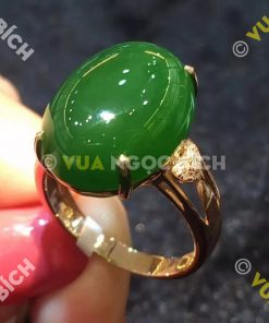 Nhẫn Ngọc Bích Nephrite Jade (NN007)