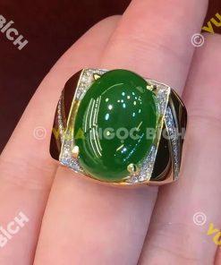 Nhẫn Ngọc Bích Nephrite Jade (NN008)