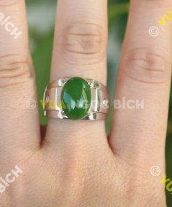 Nhẫn Ngọc Bích Nephrite Jade (NN013)