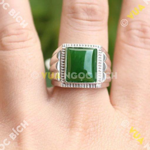 Nhẫn Ngọc Bích Nephrite Jade (NN014)