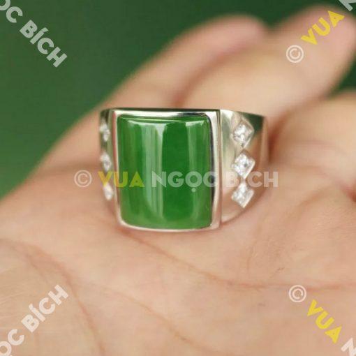 Nhẫn Ngọc Bích Nephrite Jade (NN015)