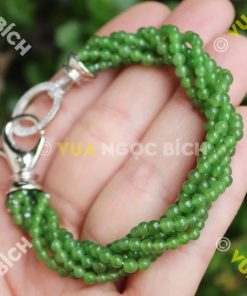 Chuỗi Hạt Vòng Ngọc Bích Nephrite Jade 5mm (VT017)