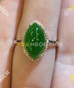 Nhẫn Ngọc Bích Nephrite Jade (NN016)