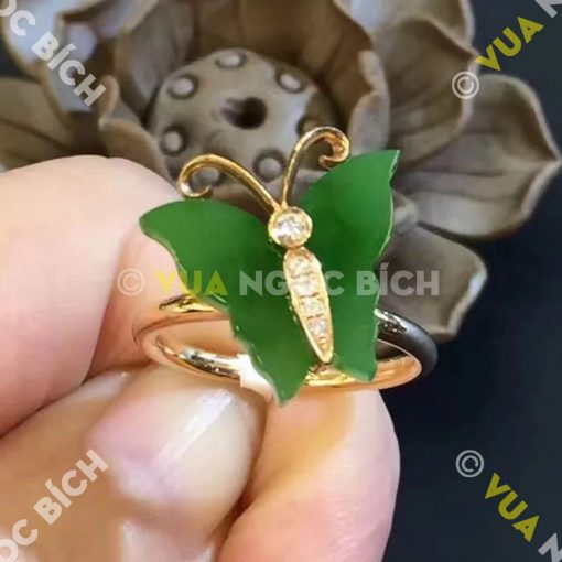 Nhẫn Ngọc Bích Nephrite Jade (NN017)