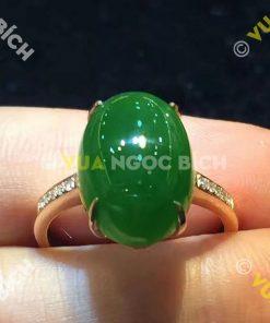 Nhẫn Ngọc Bích Nephrite Jade (NN018)