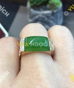 Nhẫn Ngọc Bích Nephrite Jade (NN019)