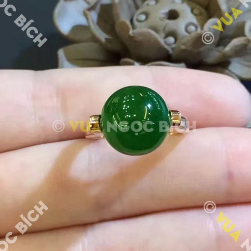 Nhẫn Ngọc Bích Nephrite Jade (NN020)