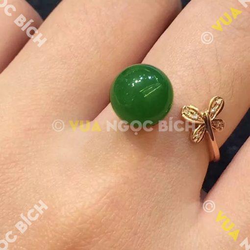 Nhẫn Ngọc Bích Nephrite Jade (NN021)