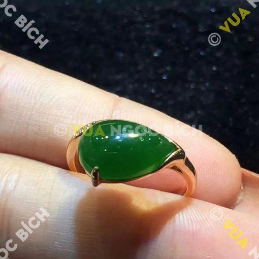 Nhẫn Ngọc Bích Nephrite Jade (NN023)