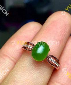 Nhẫn Ngọc Bích Nephrite Jade (NN024)