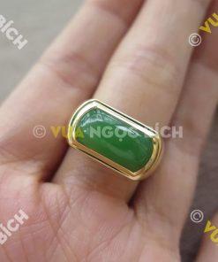 Nhẫn Ngọc Bích Nephrite Jade (NN025)