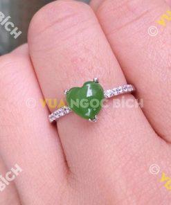 Nhẫn Ngọc Bích Nephrite Jade (NN026)