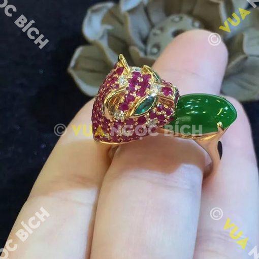 Nhẫn Ngọc Bích Nephrite Jade (NN027)