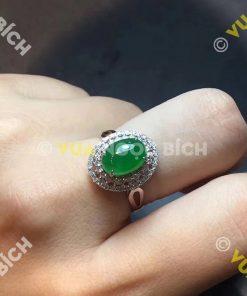 Nhẫn Ngọc Bích Nephrite Jade (NN029)