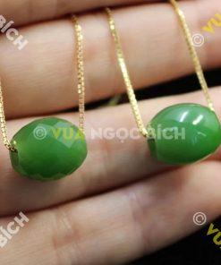 Mặt Dây Lu Thống Ngọc Bích Nephrite Jade (MD047)
