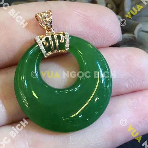 Mặt Dây Ngọc Bích Nephrite Jade (MD035)
