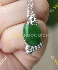 Mặt Dây Ngọc Bích Nephrite Jade (MD037)