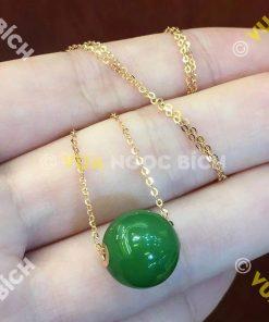 Mặt Dây Ngọc Bích Nephrite Jade (MD038)