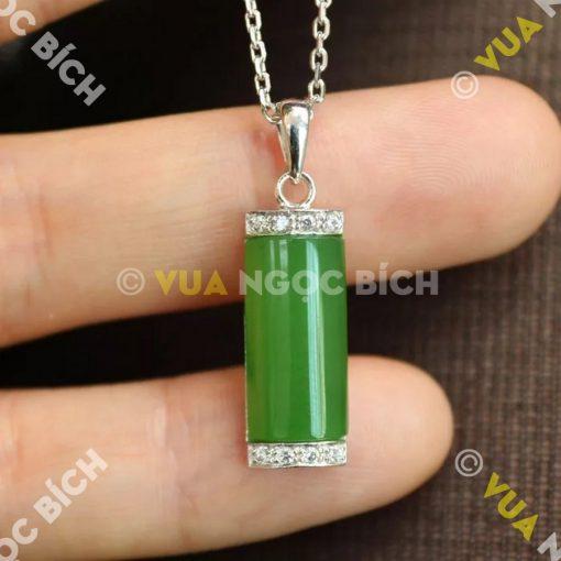 Mặt Dây Ngọc Bích Nephrite Jade (MD039)