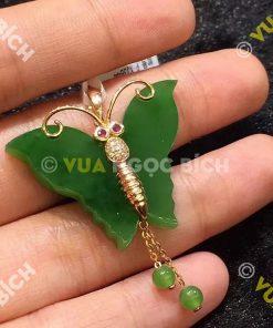 Mặt Dây Ngọc Bích Nephrite Jade (MD040)