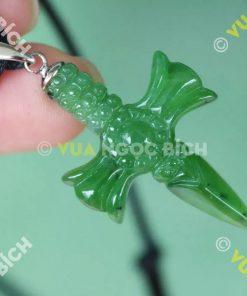 Mặt Dây Ngọc Bích Nephrite Jade (MD043)