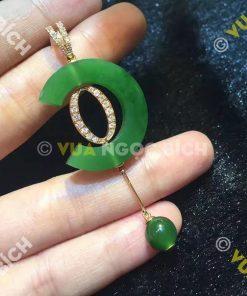 Mặt Dây Ngọc Bích Nephrite Jade (MD044)