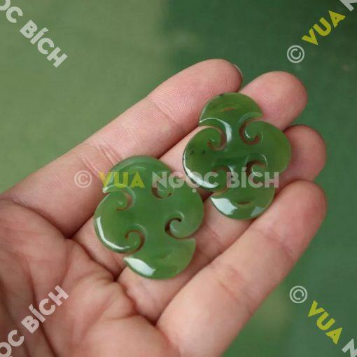 Mặt Dây Ngọc Bích Nephrite Jade (MD046)