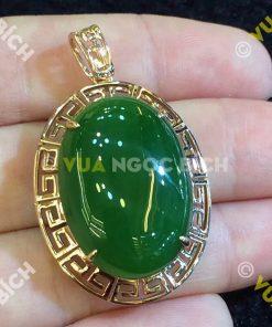 Mặt Dây Ngọc Bích Nephrite Jade (MD056)