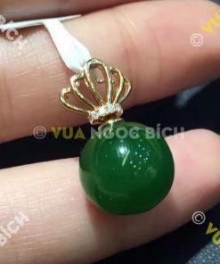 Mặt Dây Ngọc Bích Nephrite Jade (MD061)
