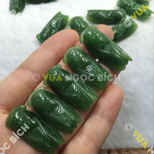 Mặt Dây Ngọc Thiền Ngọc Bích Nephrite Jade (MD052)
