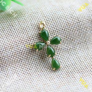 Mặt Dây Ngọc Bích Nephrite Jade (MD067)