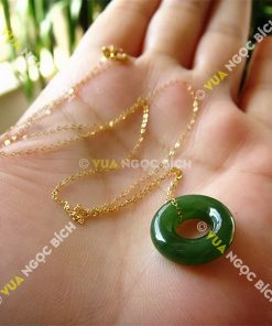 Mặt Dây Ngọc Bich Nephrite Jade (MD062)