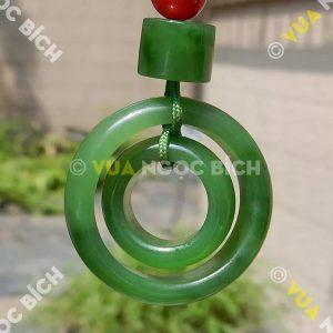 Mặt Dây Ngọc bích Nephrite Jade (MD063)