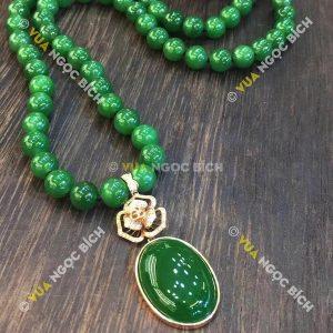 Mặt Dây Ngọc Bích Nephrite Jade (MD071)