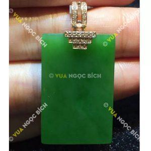 Mặt dây Ngọc Bích Nephrite Jade (MD080)