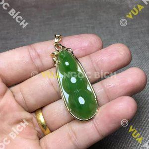 Mặt Dây Ngọc Bích Nephrite Jade (MD065)