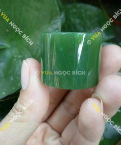 Nhẫn Càn Long Ngọc Bích Nephrite Jade (NN036)