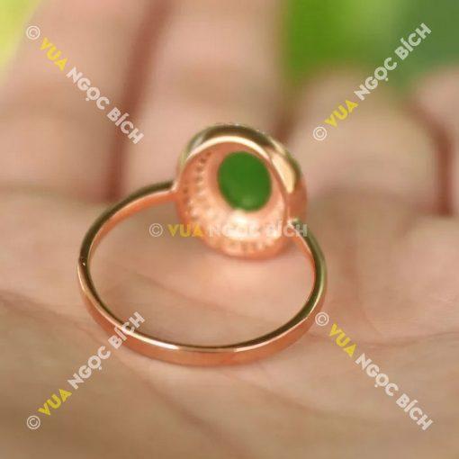 Nhẫn Ngọc Bích Nephrite Jade (NN032)