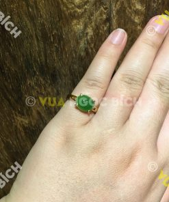 Nhẫn Ngọc Bích Nephrite Jade (NN034)