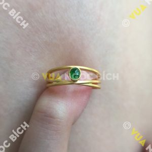Nhẫn Ngọc Bích Nephrite Jade (NN037)